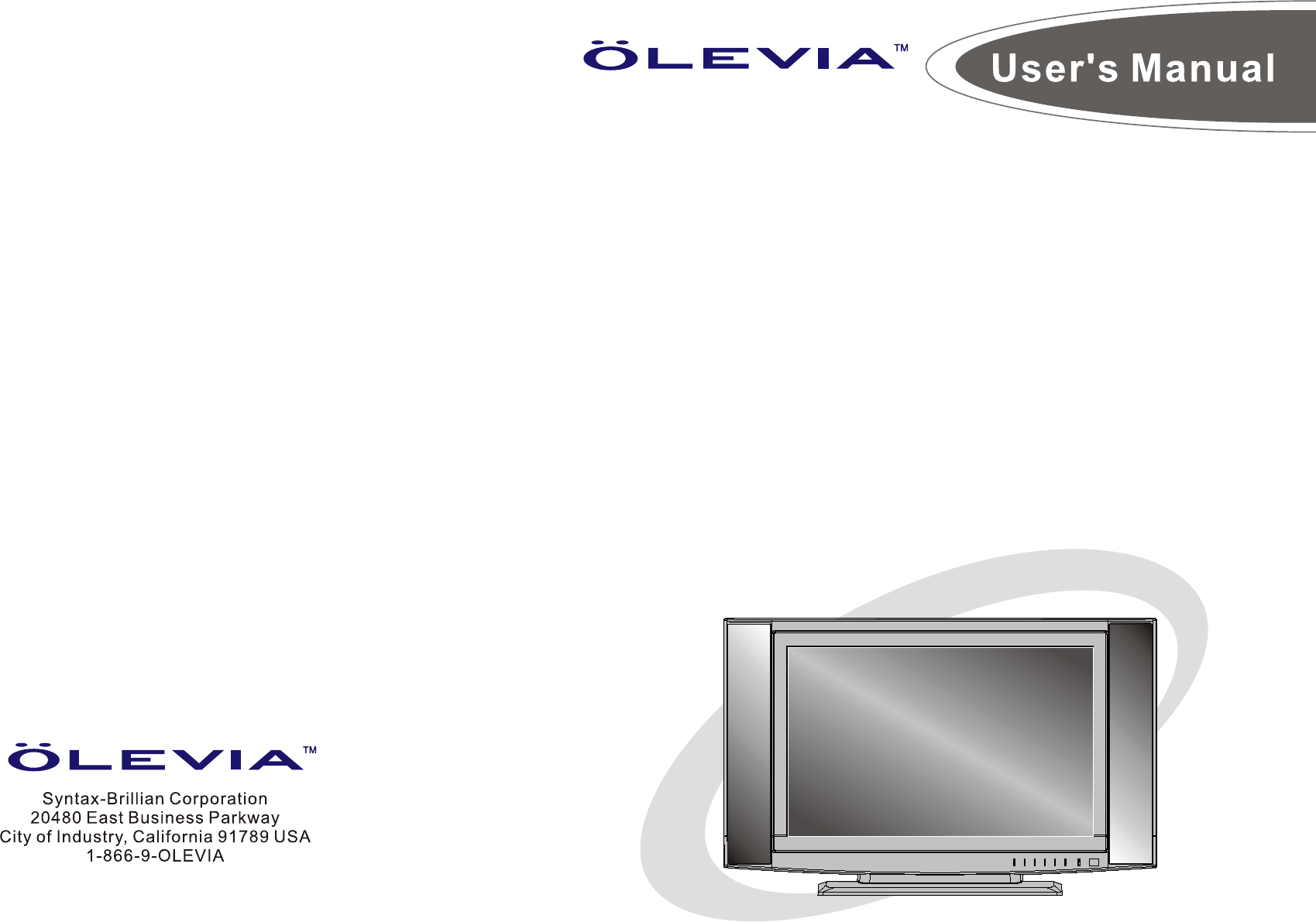 olevia flat panel television 4 series user guide manualsonline com rh tv manualsonline com olevia flat screen tv owner's manual Olevia TV's Website
