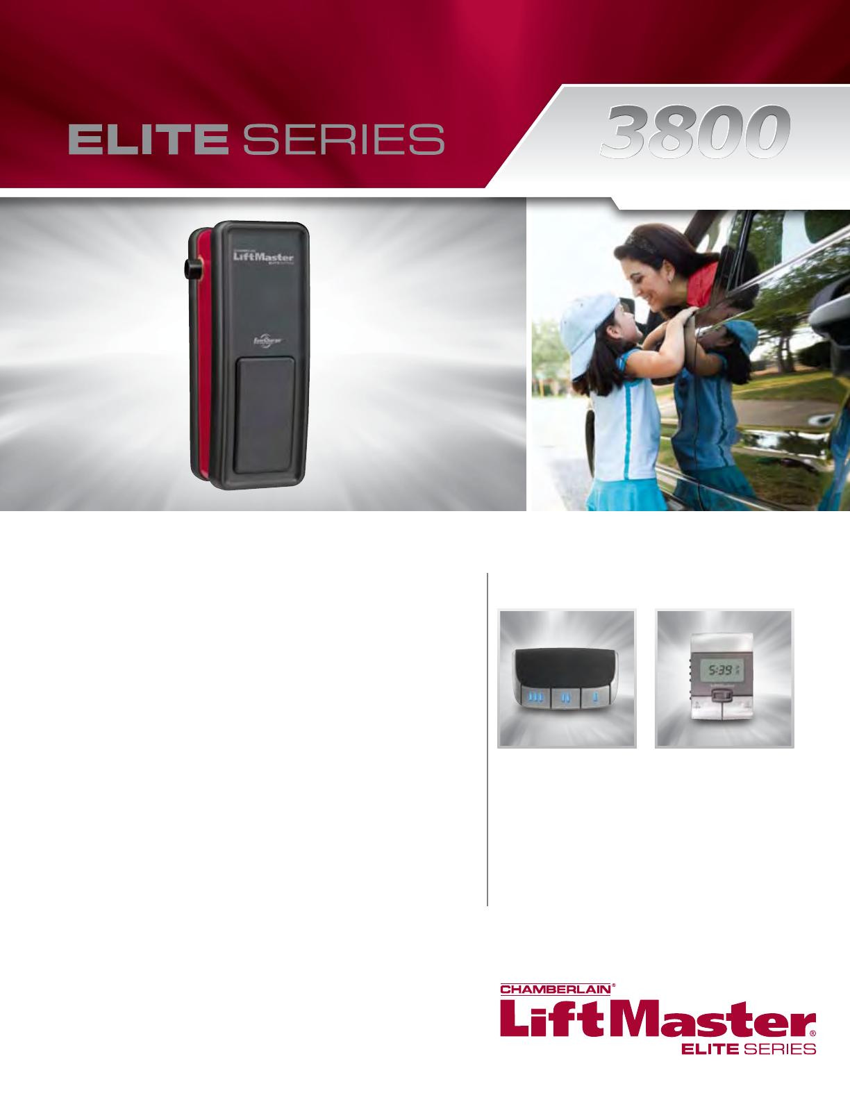 liftmaster garage door opener 3800 user guide manualsonline com rh homeappliance manualsonline com Elite Gate Openers Elite Gate Openers
