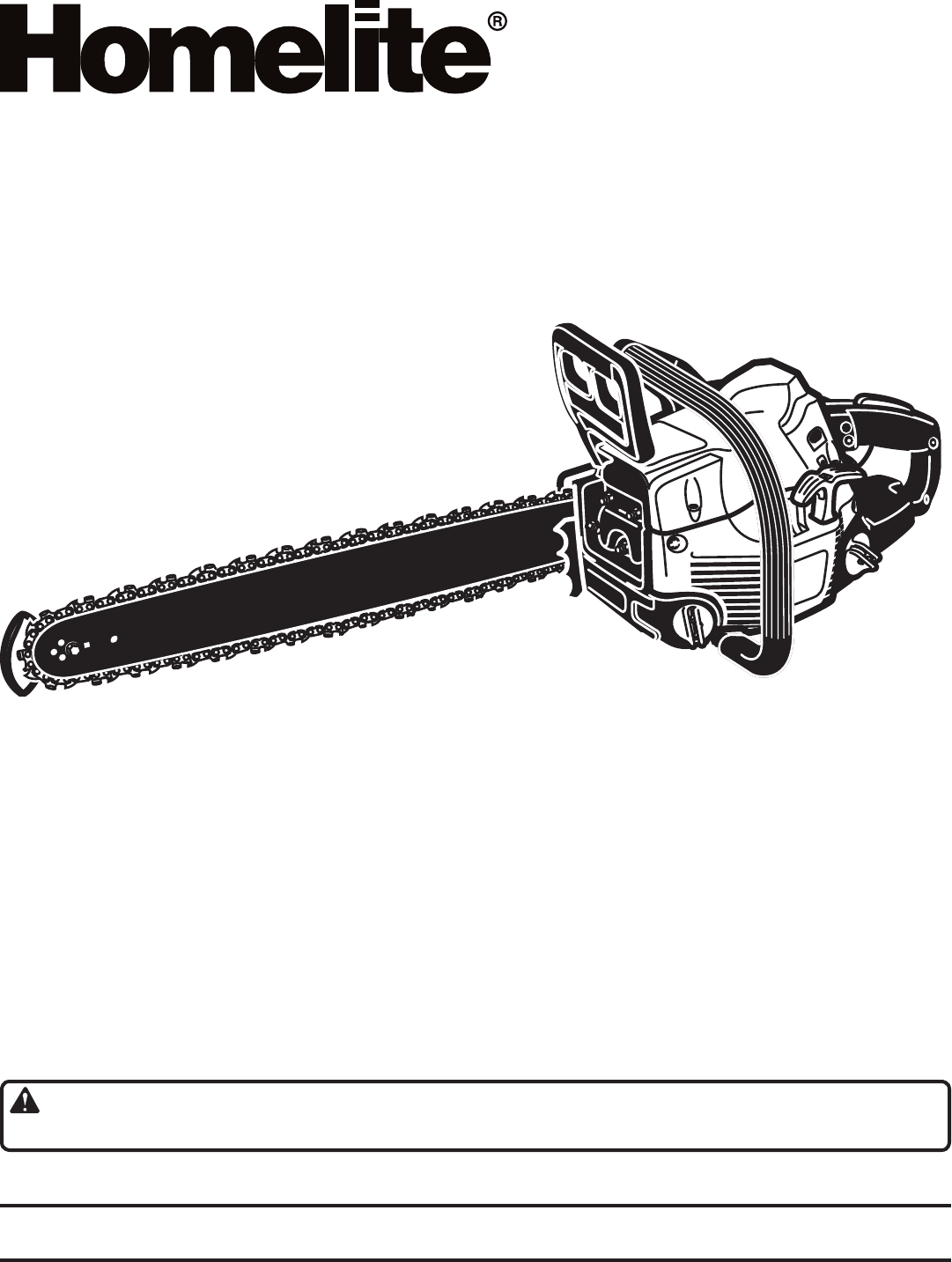 Homelite chainsaw ut1051718 user guide manualsonline operators manual greentooth
