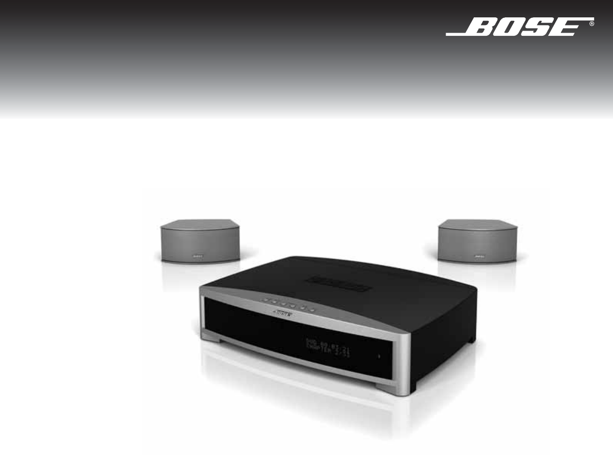 Bose Stereo System 3 2 1 Gs Series Iii User Guide