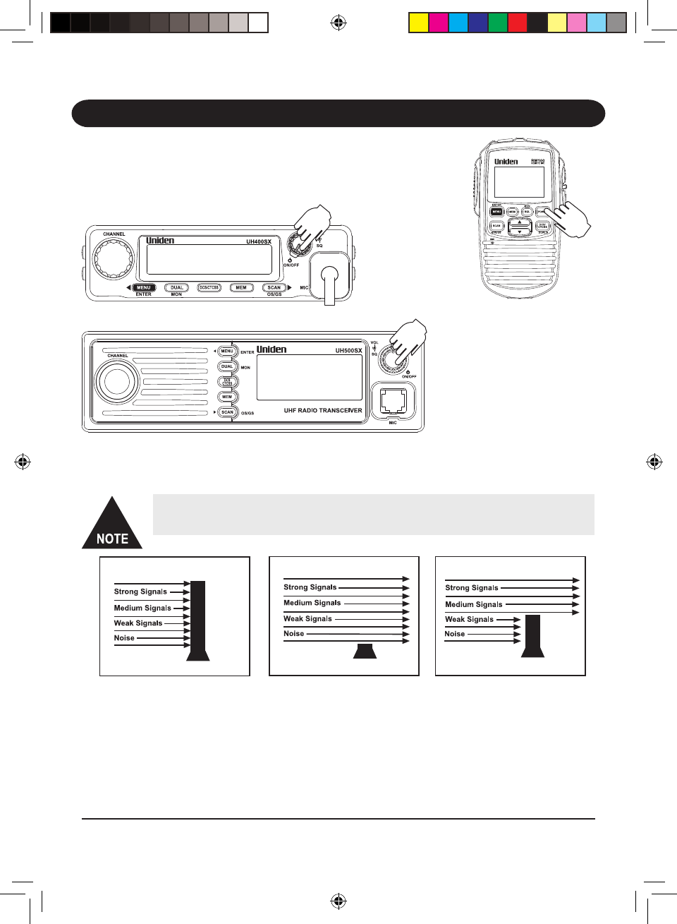page 19 of uniden two way radio uh500sx user guide manualsonline com rh phone manualsonline com Uniden Answering Machine Manual Uniden Model Tr620-2 Manual