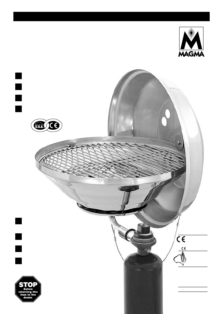 Magma Gas Grill A10