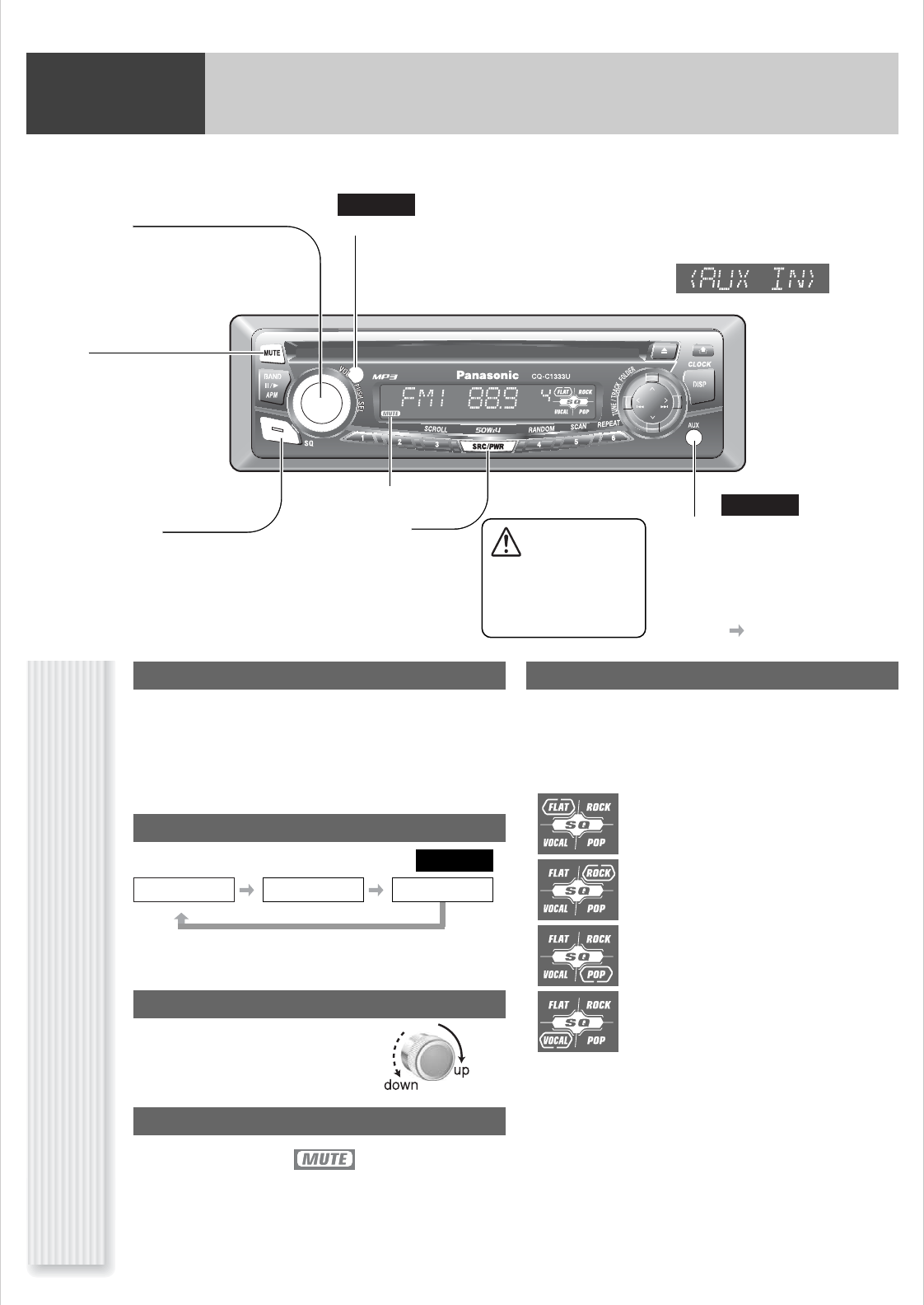 Panasonic Cq C1333u Wiring Diagram Trusted Diagrams C1301u Car Stereo House Symbols U2022 Oven Schematic