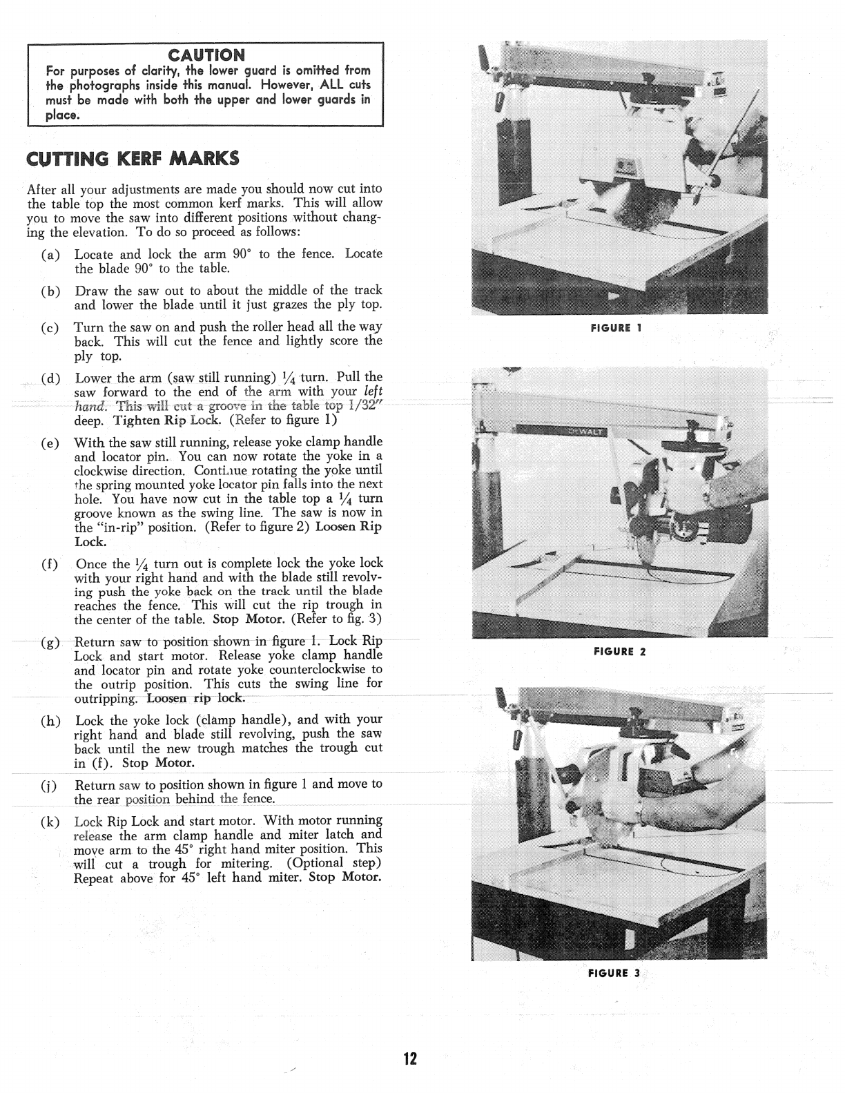 Dewalt 790 12 Manual Guide