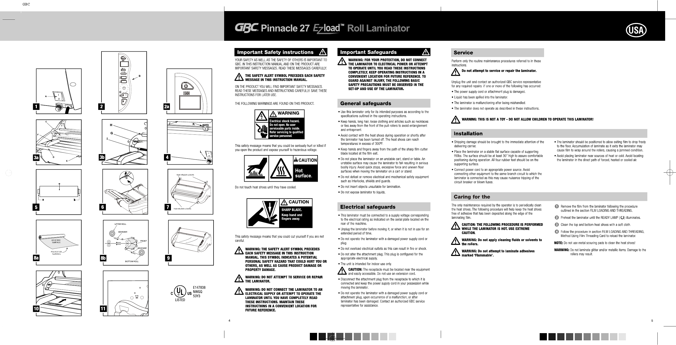 page 2 of gbc laminator 27 user guide manualsonline com rh office manualsonline com gbc combbind c200 user manual gbc user manual c400e