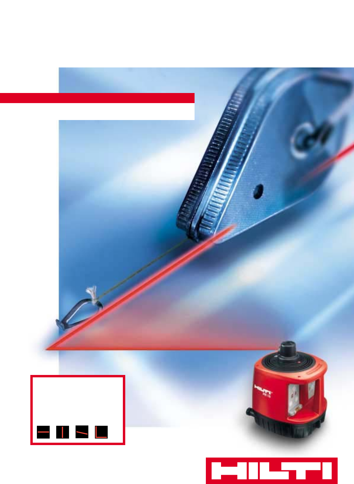 hilti laser level pr 16 user guide manualsonline com rh powertool manualsonline com User 1C V8 2 PR 16 Denial