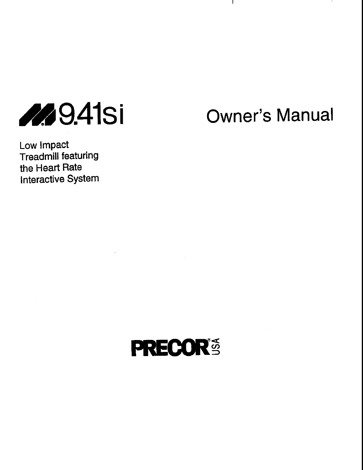 Precor Treadmill Wiring Diagram Clicking Noise Exercise Ge Oven Jdp37 Si User Guide Manualsonline Com Next