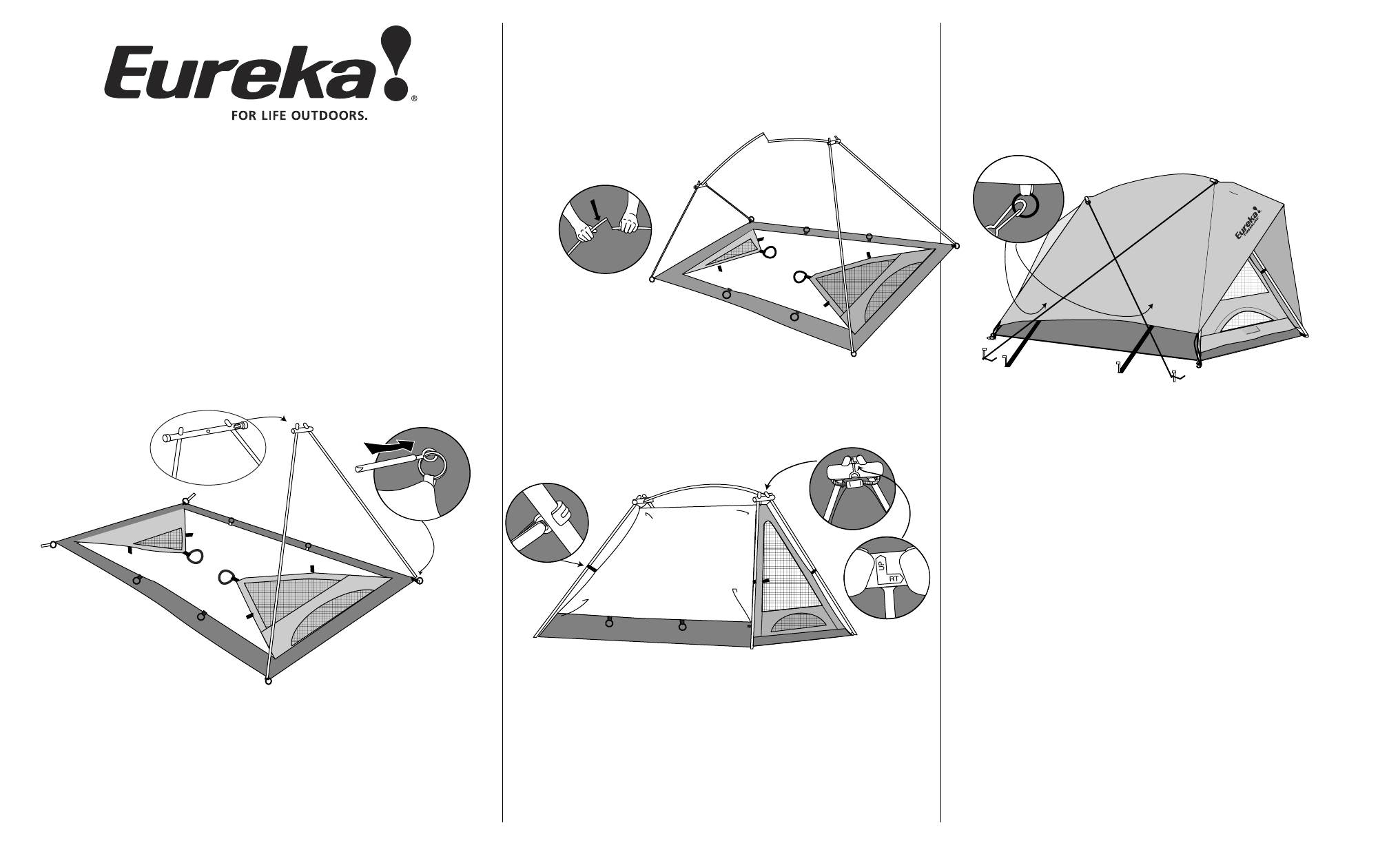 Eureka Tents Tent Timberline Outfitter User Guide Manualsonline