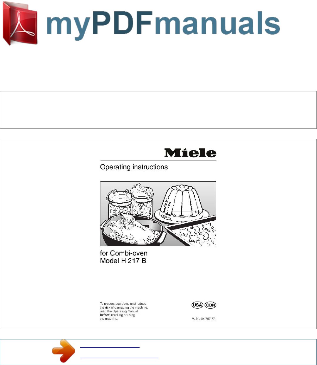 miele oven h 217 b user guide manualsonline com rh kitchen manualsonline com tec b 452 user manual b 452 manual