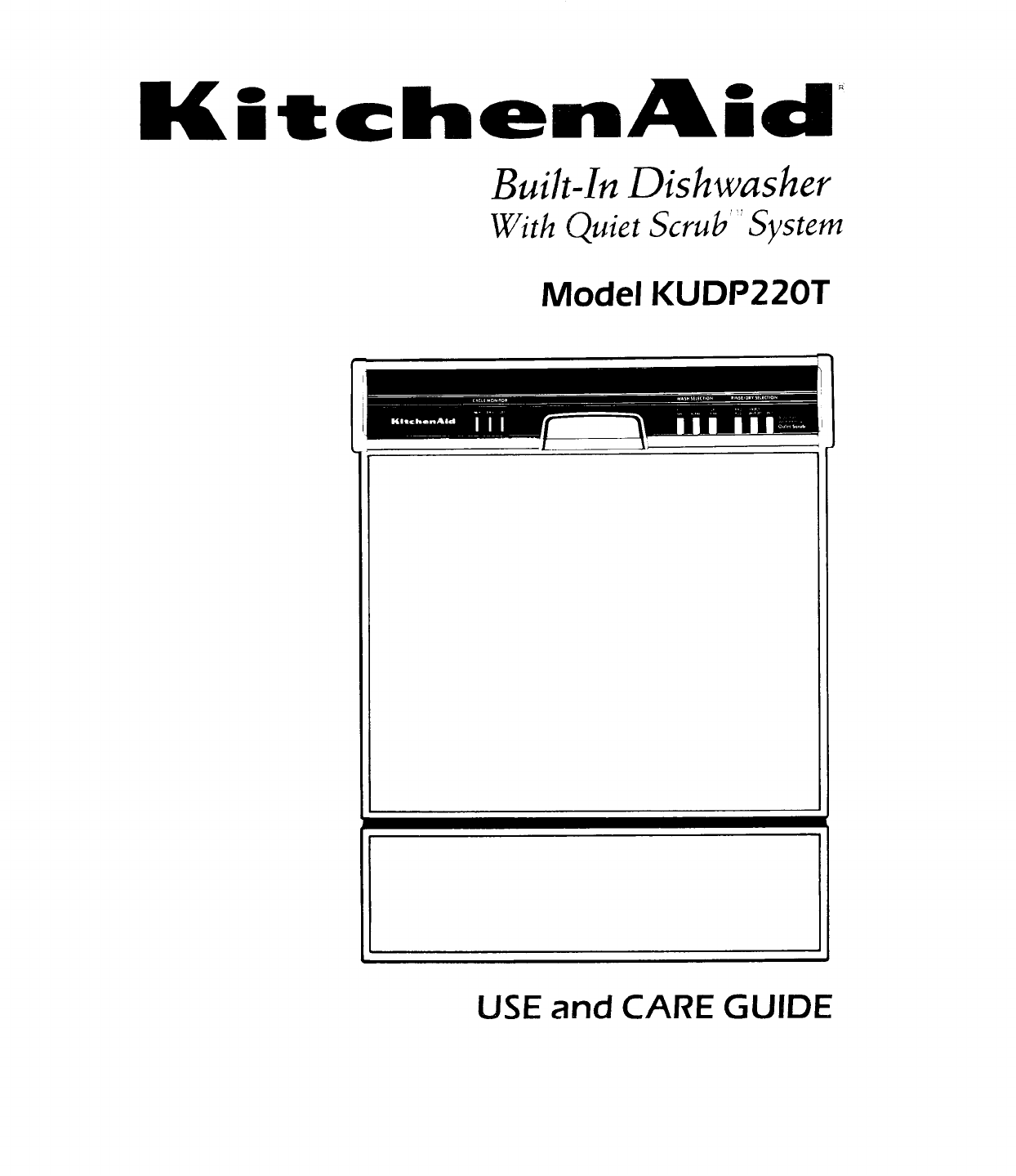 Looking For Kitchenaid Model Kude70fvss1 Dishwasher Repair Manual Guide