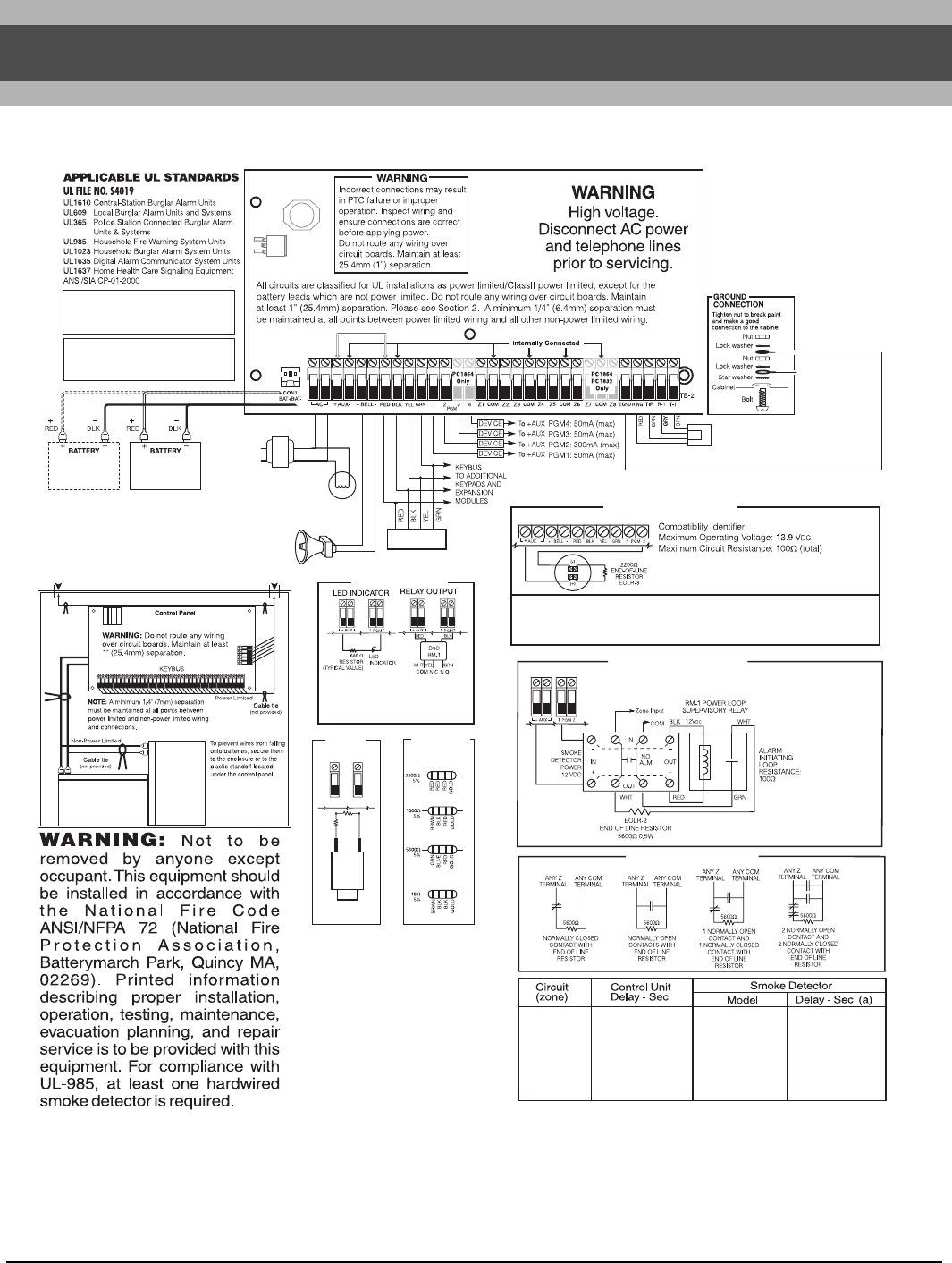 page 62 of home security system pc1616 pc1832 pc1864 user 58