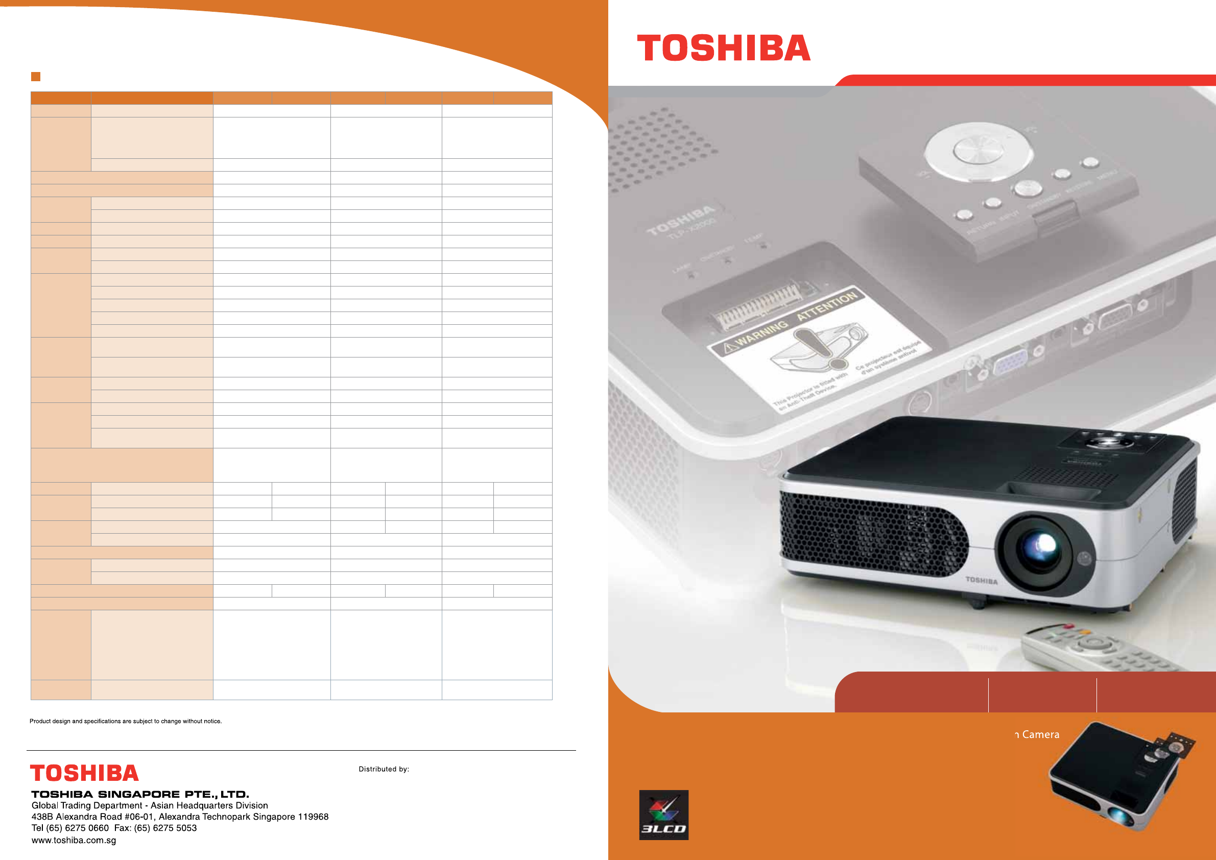 toshiba projector tlp xc3000 user guide manualsonline com rh manualsonline com Hitachi LCD Projector panasonic lcd projector user manual