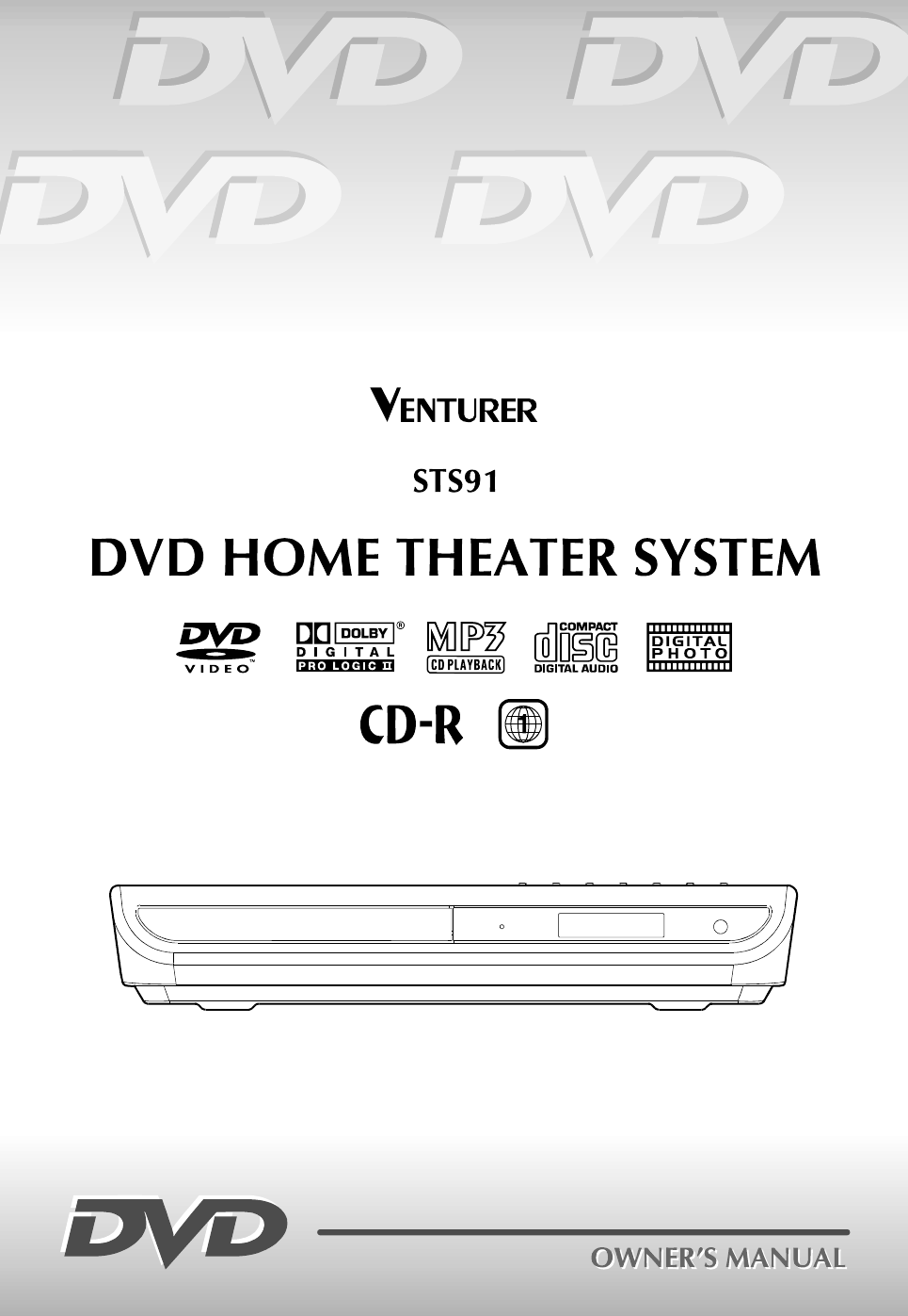 Dvd Home Theater System Sts