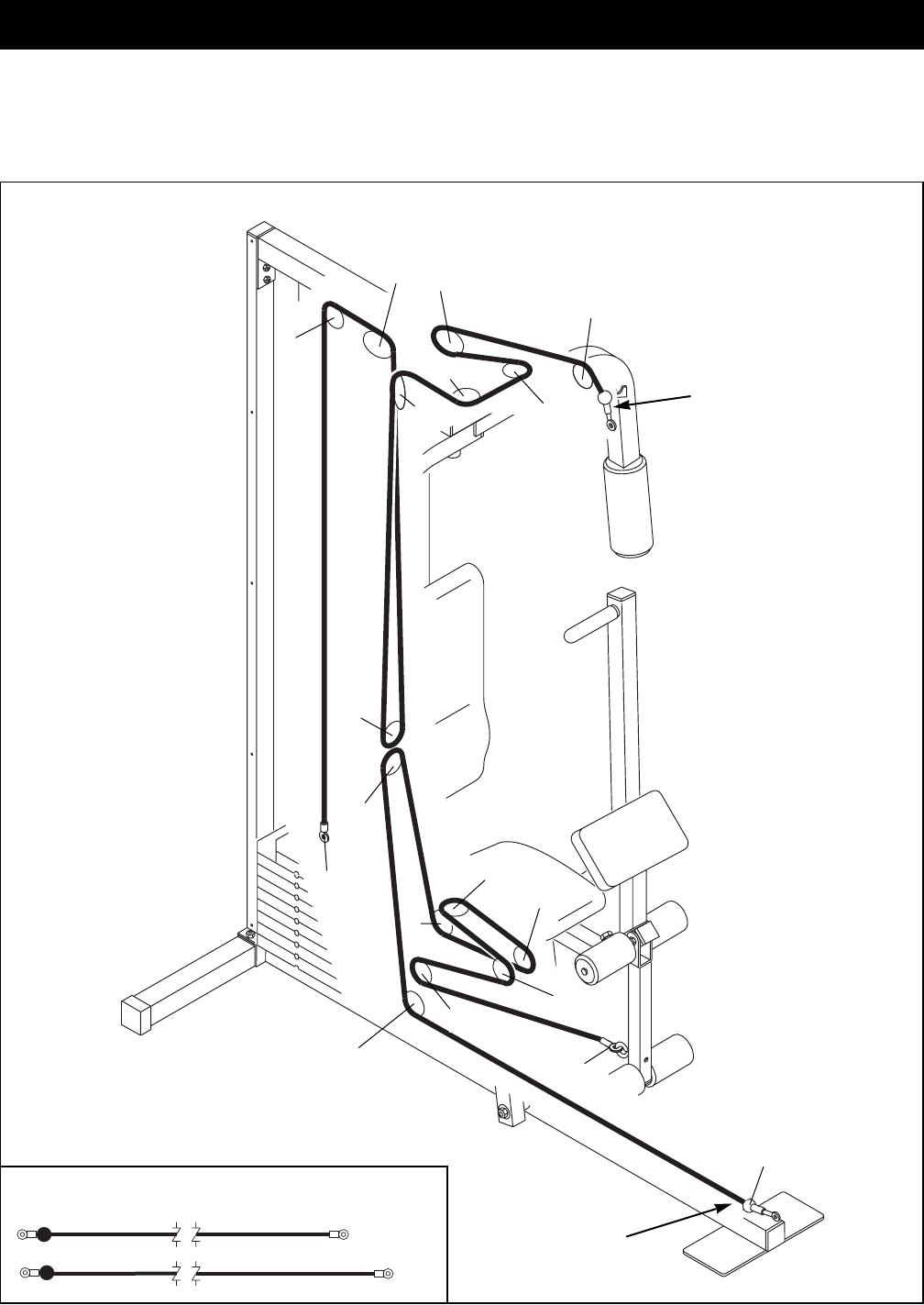 Page 16 of weider home gym wesy81081 user guide manualsonline 16 cable diagram pooptronica Image collections