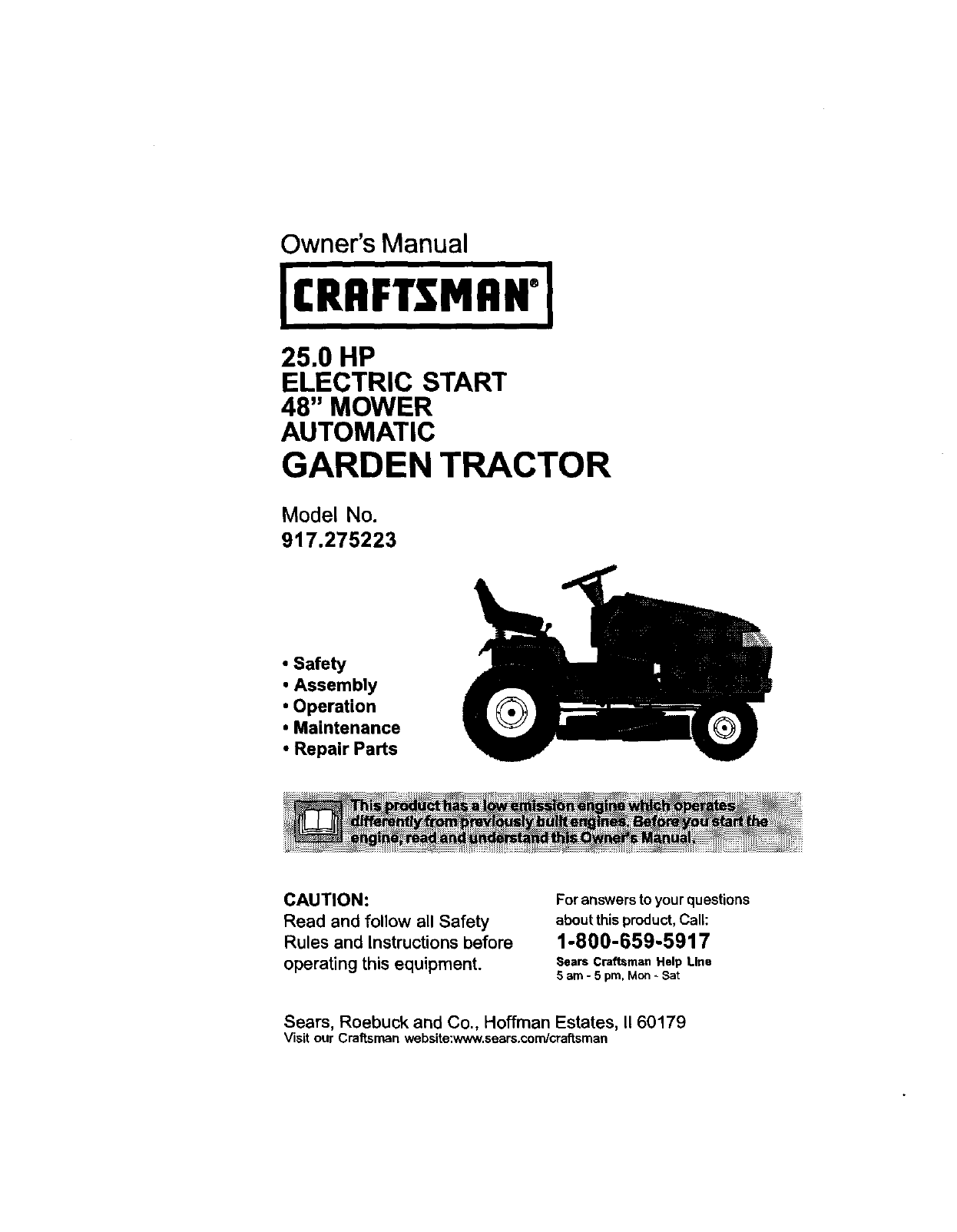 Craftsman Lawn Mower Assembly Instructions Lt4000 Wiring Diagram Repair Manual For Riding Ys4500 Ifixit