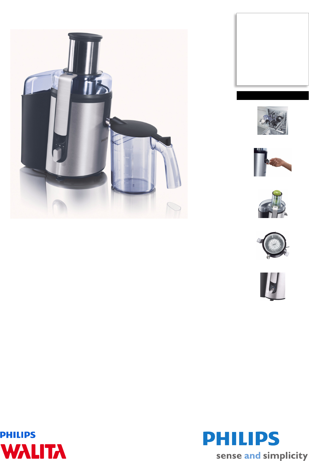 philips juicer ri1865 user guide manualsonline com rh kitchen manualsonline com Philips Norelco Philips Norelco