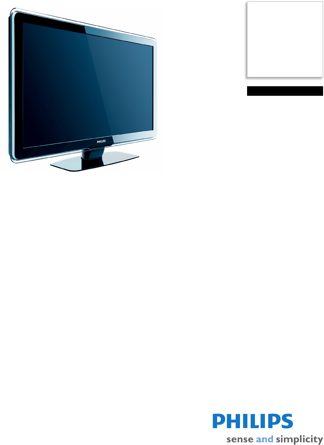 philips flat panel television 47pfl7403d f7 user guide rh tv manualsonline com Philips Flat TV Owner Manual Philips Instruction Manuals