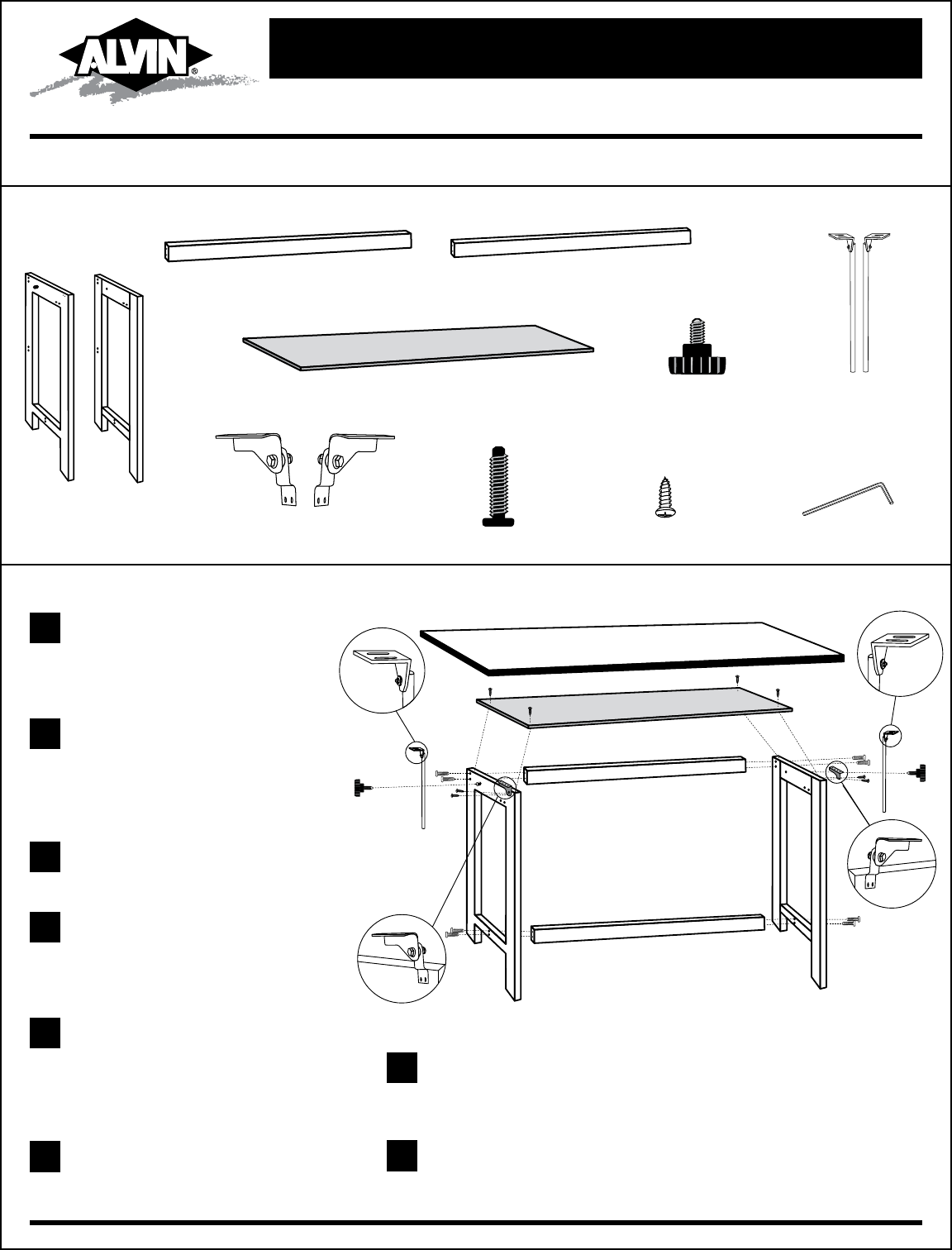 Mayline Drafting Table Parts Mayline Replacement Tilt