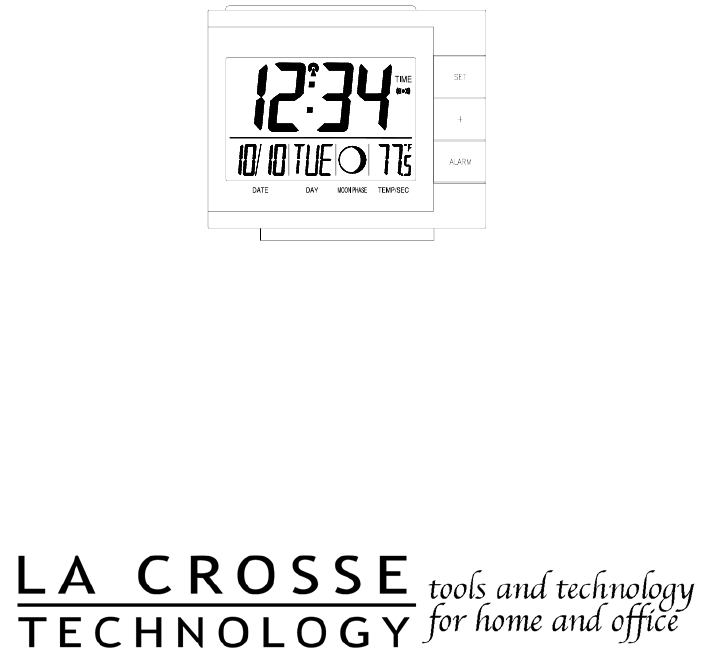 la crosse technology thermometer manual