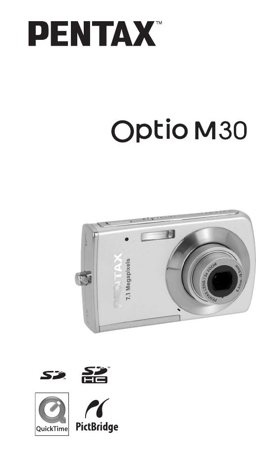 pentax digital camera optio m30 user guide manualsonline com rh camera manualsonline com Pentax 16MP Camera Pentax Optio Digital Camera Review