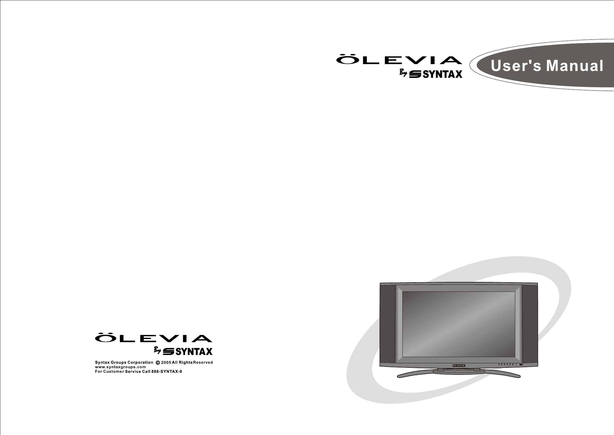 olevia flat panel television lt37hvs user guide manualsonline com rh tv manualsonline com Olevia TV Parts Olevia TV Troubleshooting
