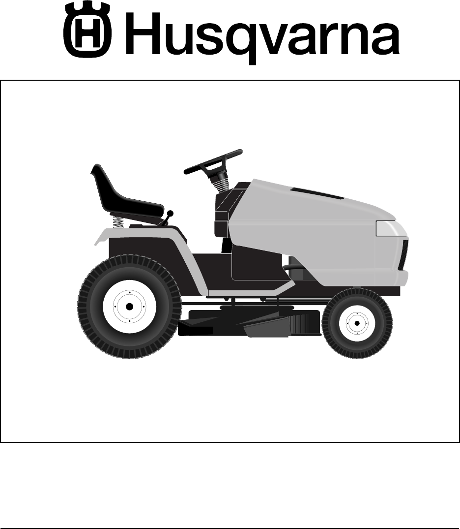 husqvarna lawn mower gth2548 user guide manualsonline com rh homeappliance manualsonline com Husqvarna GTH2548 Rear Plate husqvarna gth2548 parts manual
