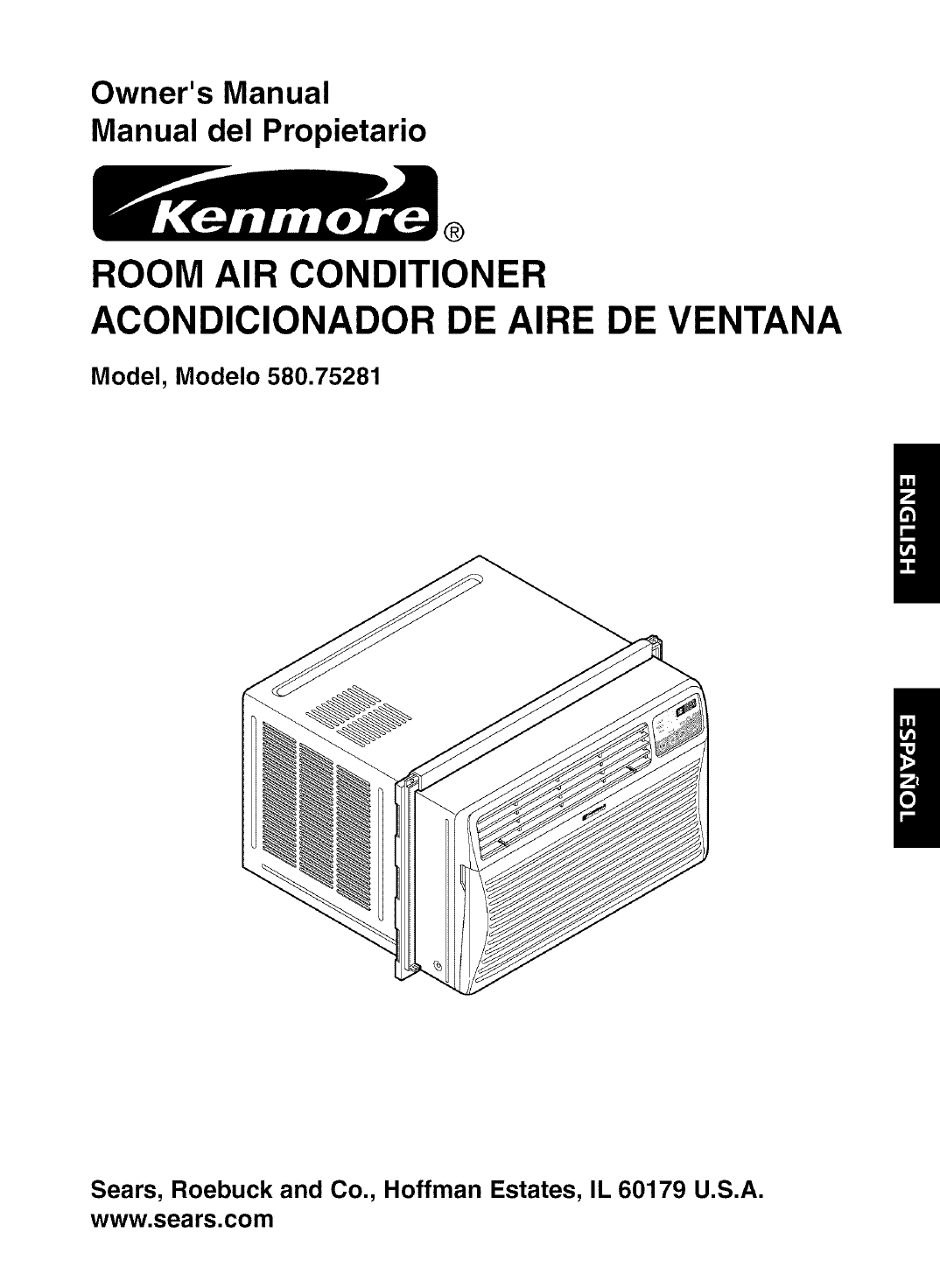 #666666 Kenmore Air Conditioner 580.75281 User Guide  Highest Rated 12746 Kenmore Room Air Conditioner Model 580 img with 1074x1472 px on helpvideos.info - Air Conditioners, Air Coolers and more