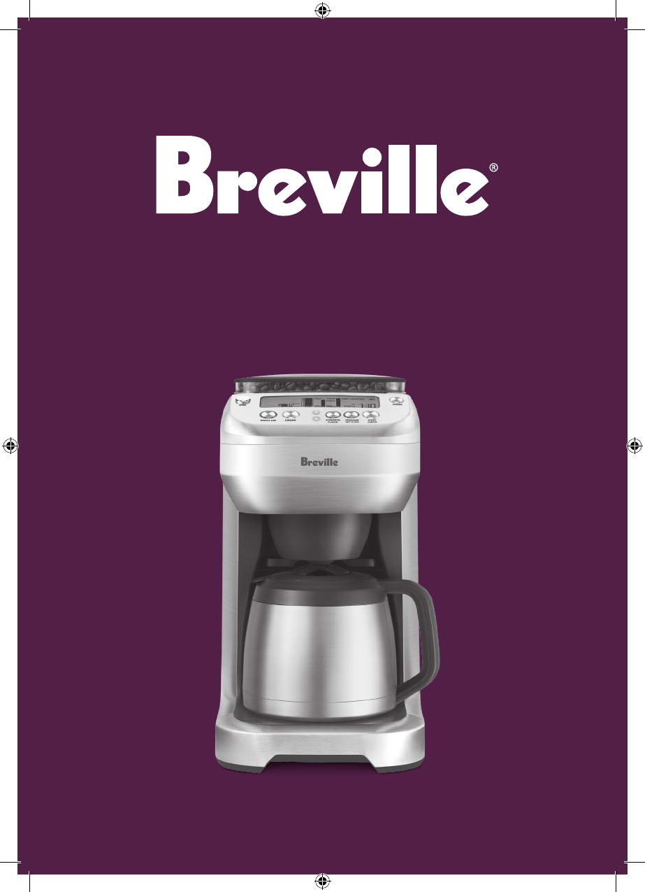 Breville One Cup Coffee Maker Manual : Breville Coffeemaker BDC600XL User Guide ManualsOnline.com