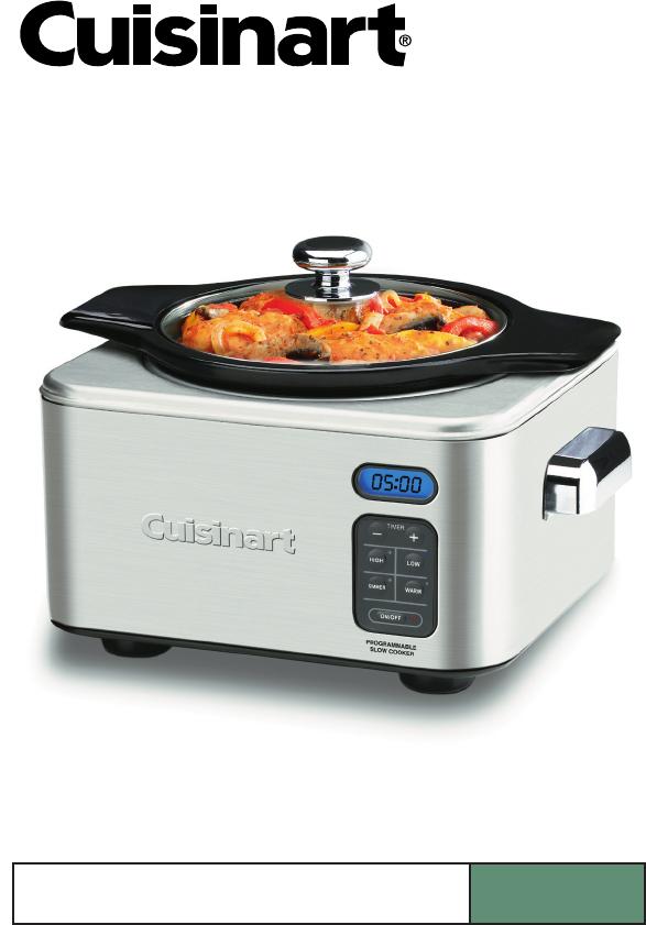 cuisinart slow cooker sc 400 user guide manualsonline com Crock Pot 7 Qt Crock Pot 7 Qt
