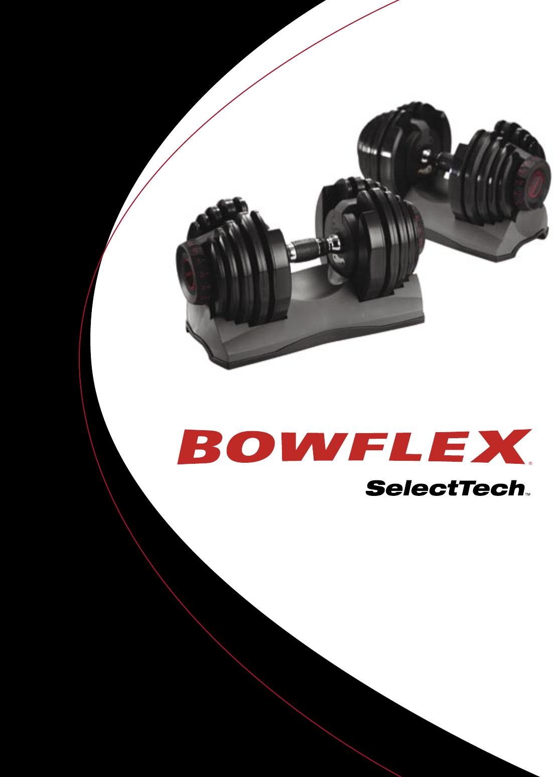 bowflex fitness equipment dumbbell user guide manualsonline com rh fitness manualsonline com