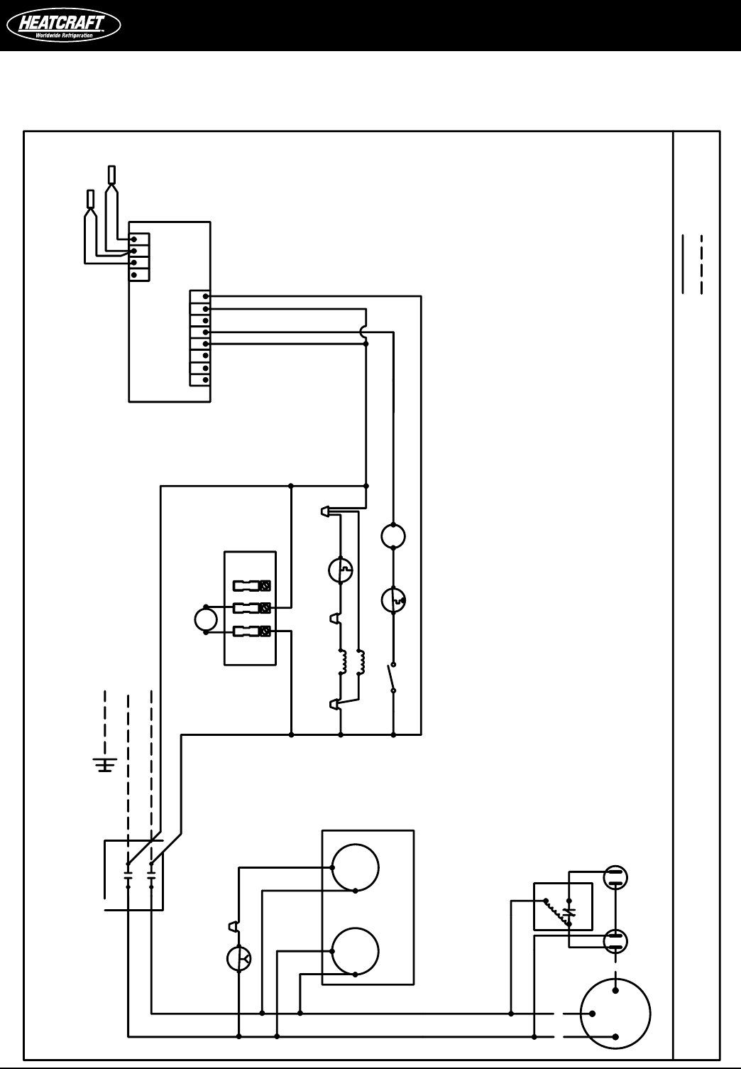page 16 of heatcraft refrigeration products refrigerator pro3 user 16 installation and operations manual