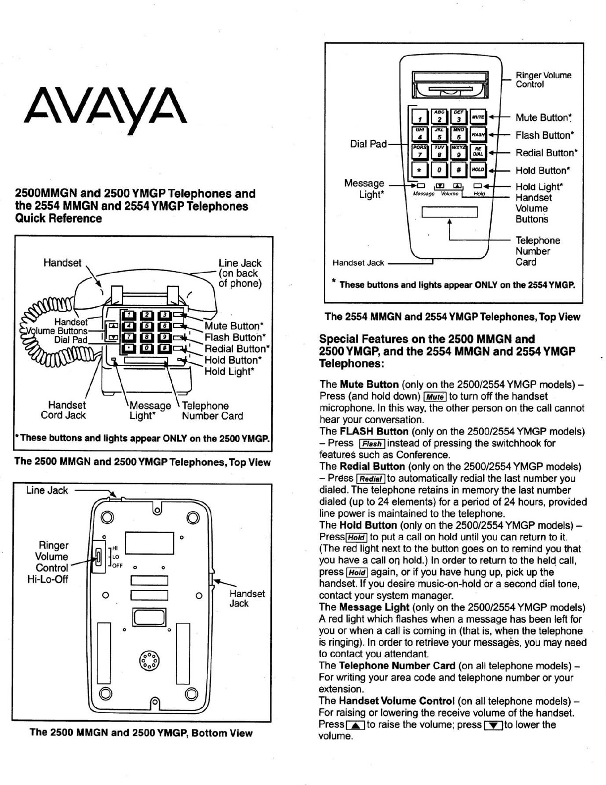 avaya cordless telephone 2500 ymgp user guide manualsonline com rh phone manualsonline com Avaya 9611G IP Phone Avaya 9611G IP Phone