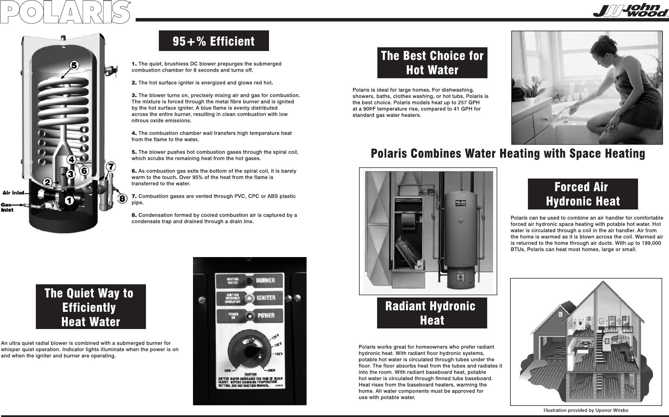 page 2 of polaris water heater pr100