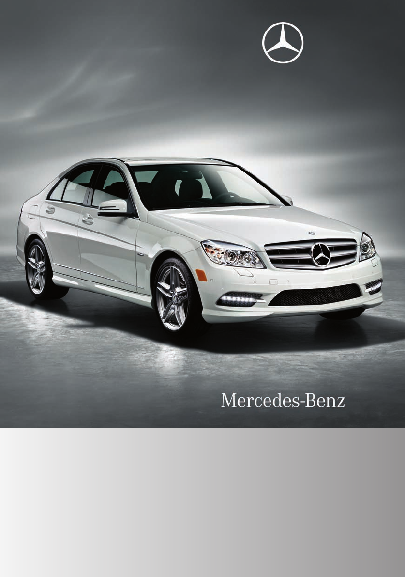 Mercedes benz automobile 2011 c300 luxury sedan user guide for Mercedes benz c300 manual