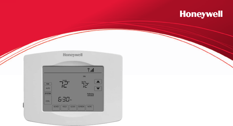 honeywell thermostat rth8580wf user guide. Black Bedroom Furniture Sets. Home Design Ideas