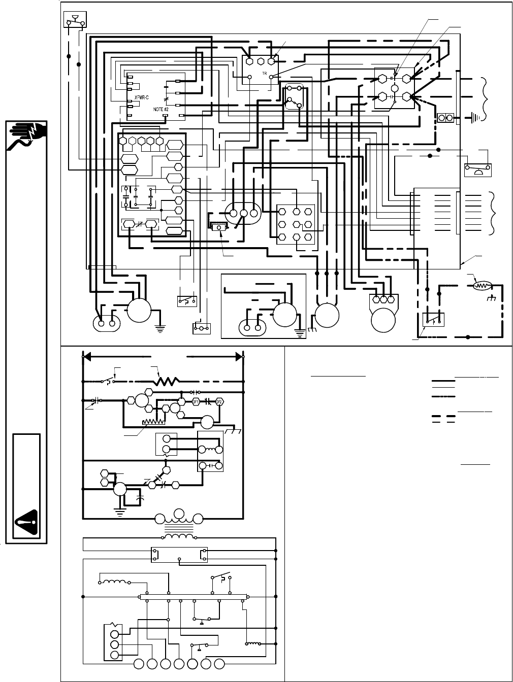 page 27 of goodman mfg heat pump rt6332013r1 user guide manualsonline com goodman wiring schematic gms80 Goodman Electric Heat Strips Wiring