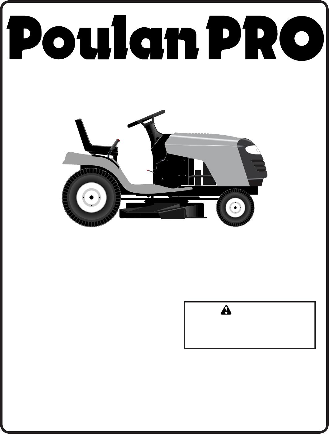 poulan lawn mower pb19546lt user guide manualsonline com rh lawnandgarden manualsonline com poulan riding lawn mower parts manual poulan riding lawn mower repair manual