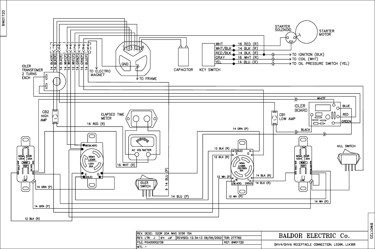 baldor generator wireing diagram   32 wiring diagram images