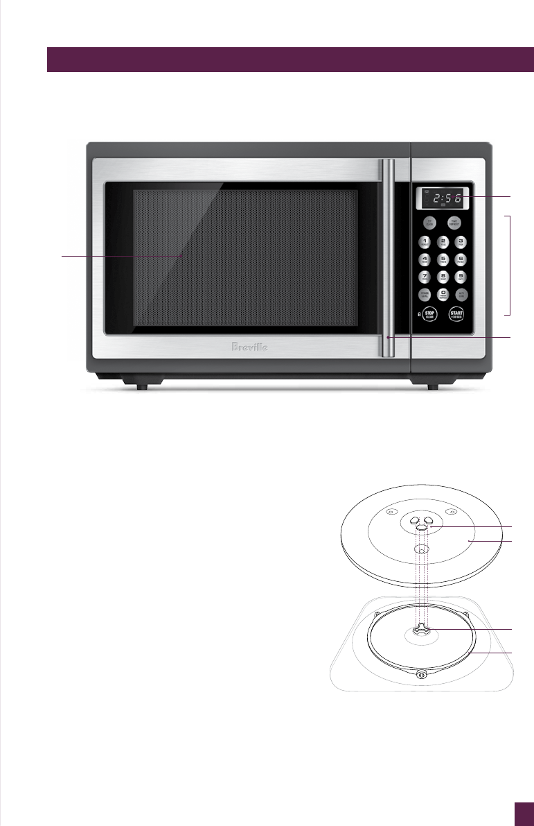 Page 12 Of Breville Microwave Oven Bmo300 User Guide