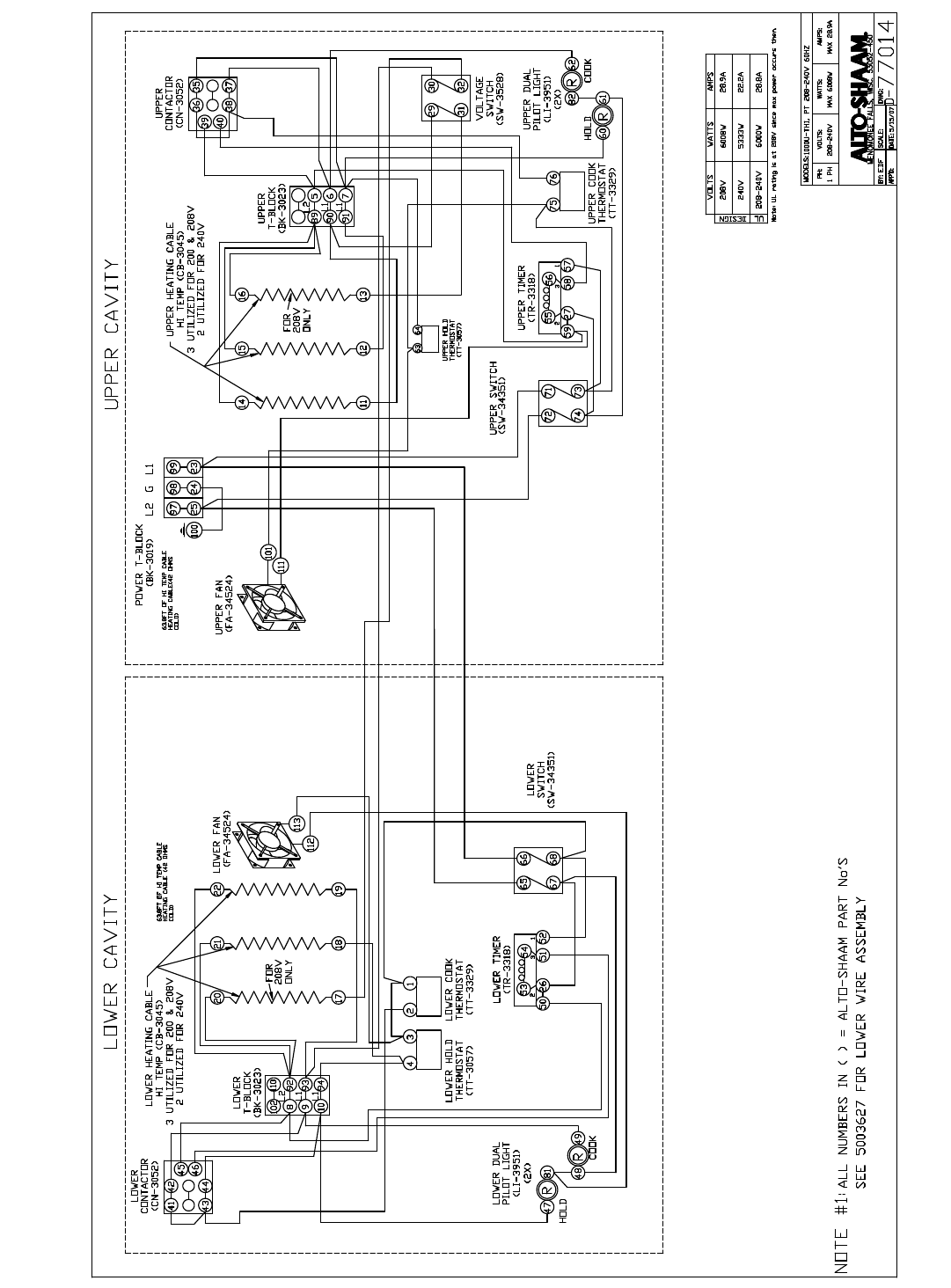 Page 20 Of Acme Incorporated Alto Shaam Oven Halo Heat User Manual Wiring Diagram For Dacor 1000 Th I Installation Operation Service