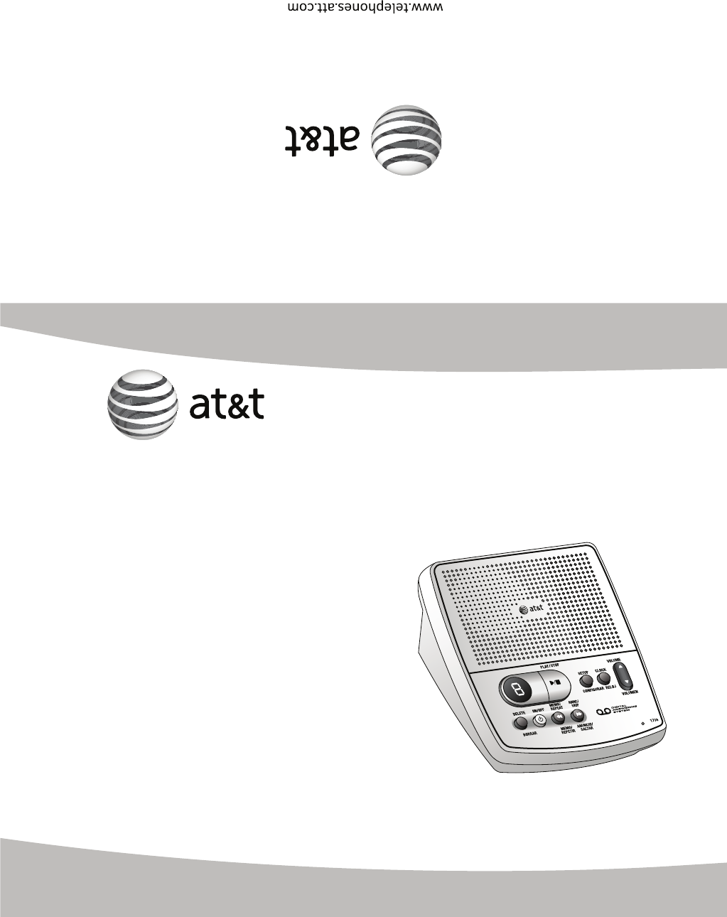 Att Answering Machine 1739 User Guide Manualsonline