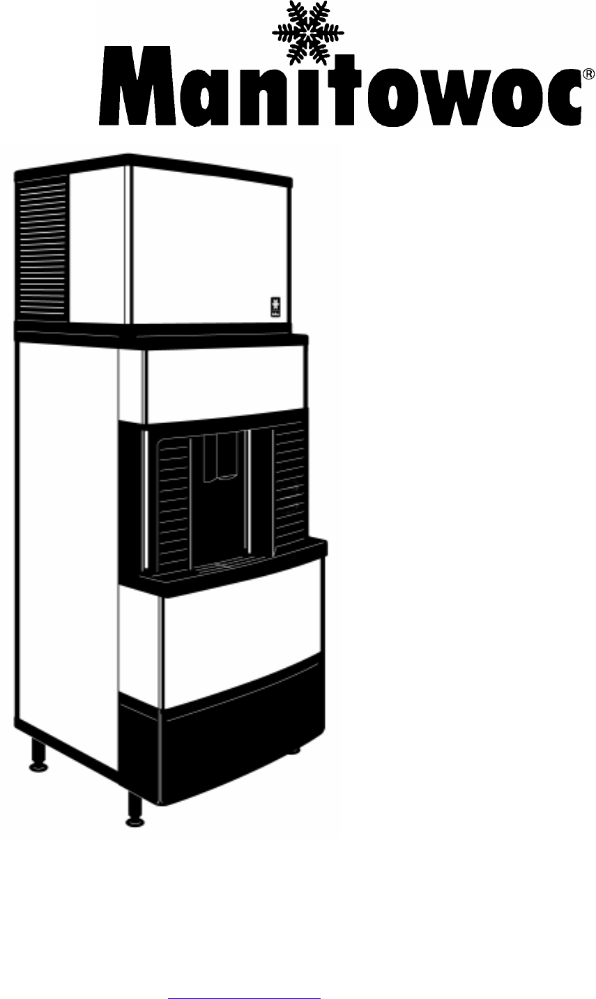 Manitowoc Ice Ice Maker Q300 User Guide