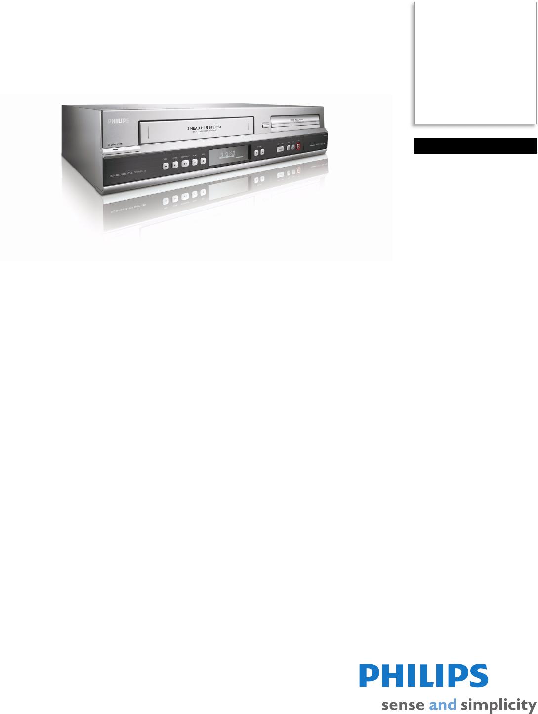 philips dvd recorder dvdr3545v user guide manualsonline com rh tv manualsonline com Philips Electronics Manuals Philips Electronics Manuals