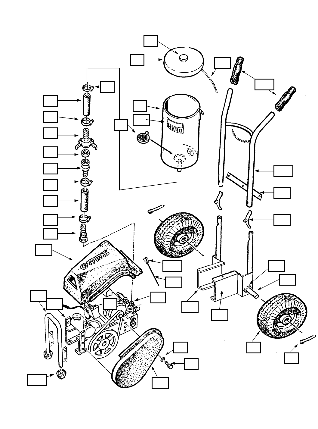 Page 33 Of Ictc Holdings Corporation Paint Sprayer Airless Spray Schematic Hero Industries 1100c 1100nc Owners Manual