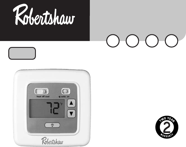 robertshaw thermostat 8400 user guide manualsonline com rh kitchen manualsonline com robertshaw thermostat manual pdf robertshaw thermostat manual 9620