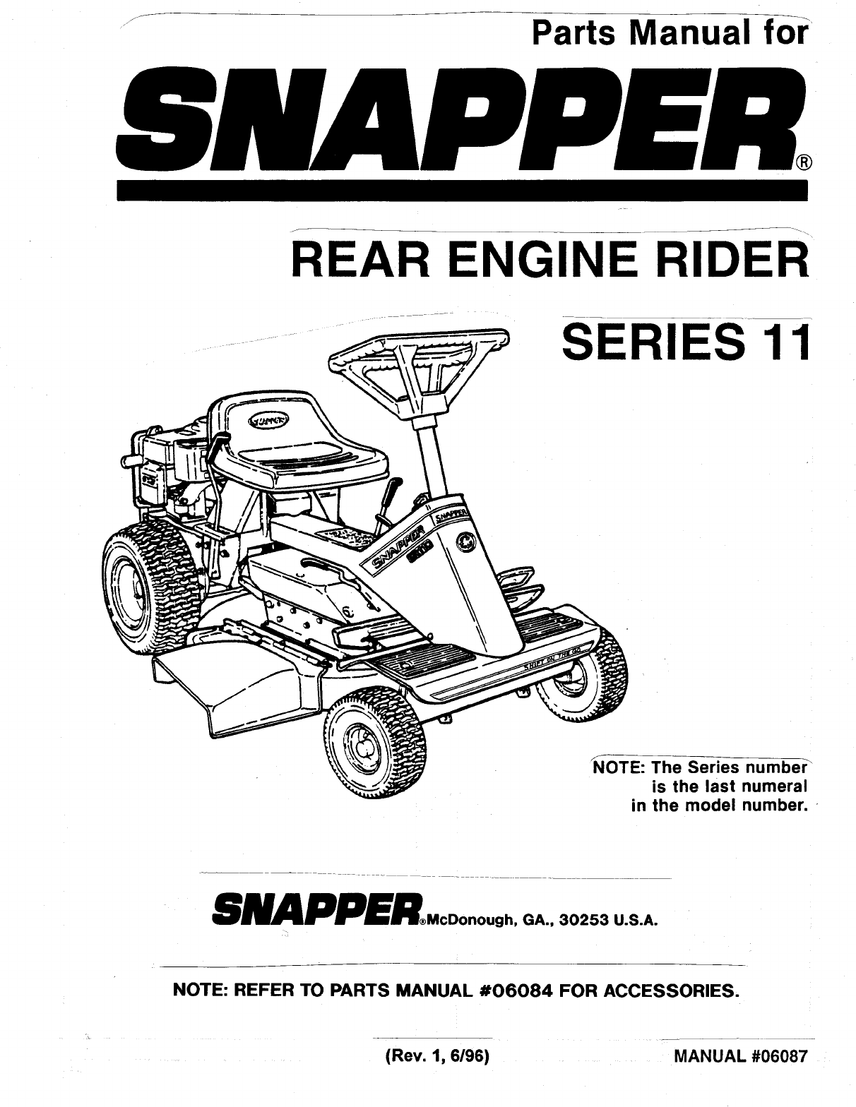 snapper lawn mower series 11 user guide manualsonline com rh lawnandgarden manualsonline com snapper parts manuals 06064 snapper parts manual 06128