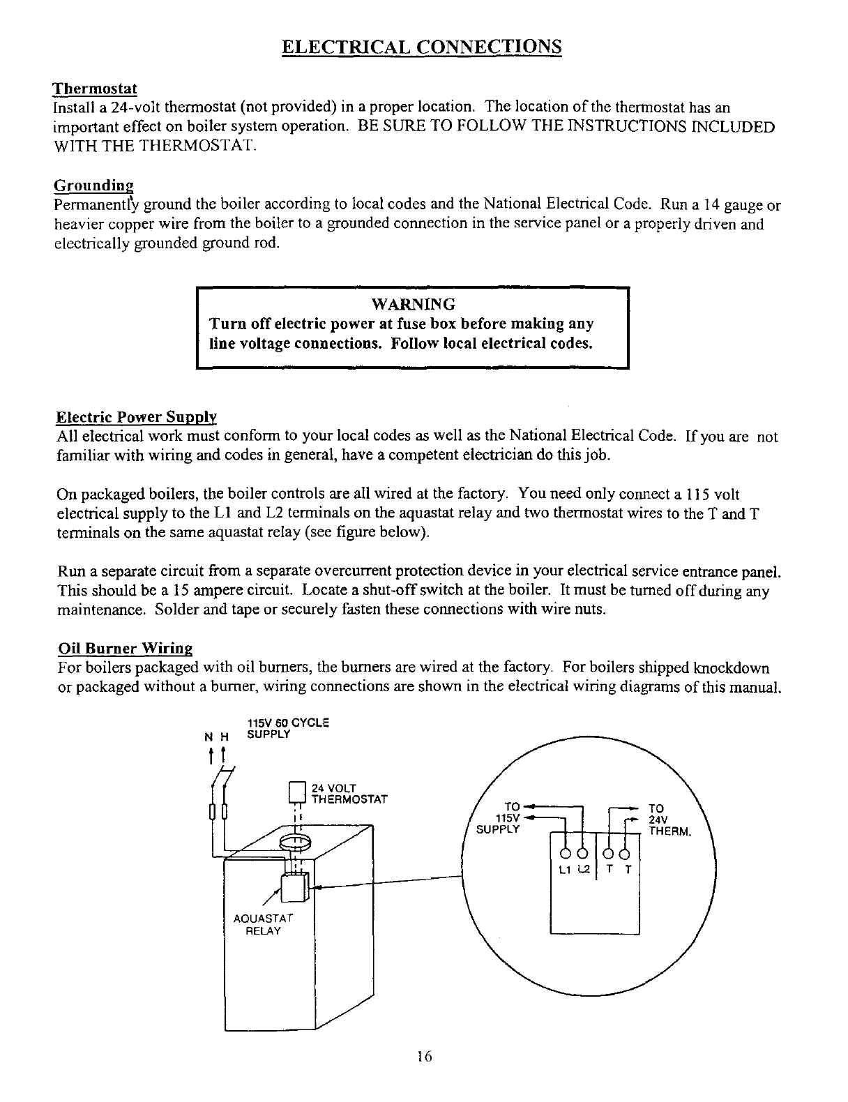 page 18 of kenmore boiler 3e w 65 user guide