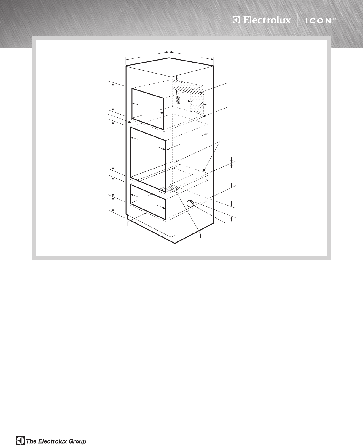 Page 4 Of Electrolux Food Warmer E39wd75gtt User Guide Wall Oven Wiring Diagram Microwave Electric Single Drawer Combination Installation