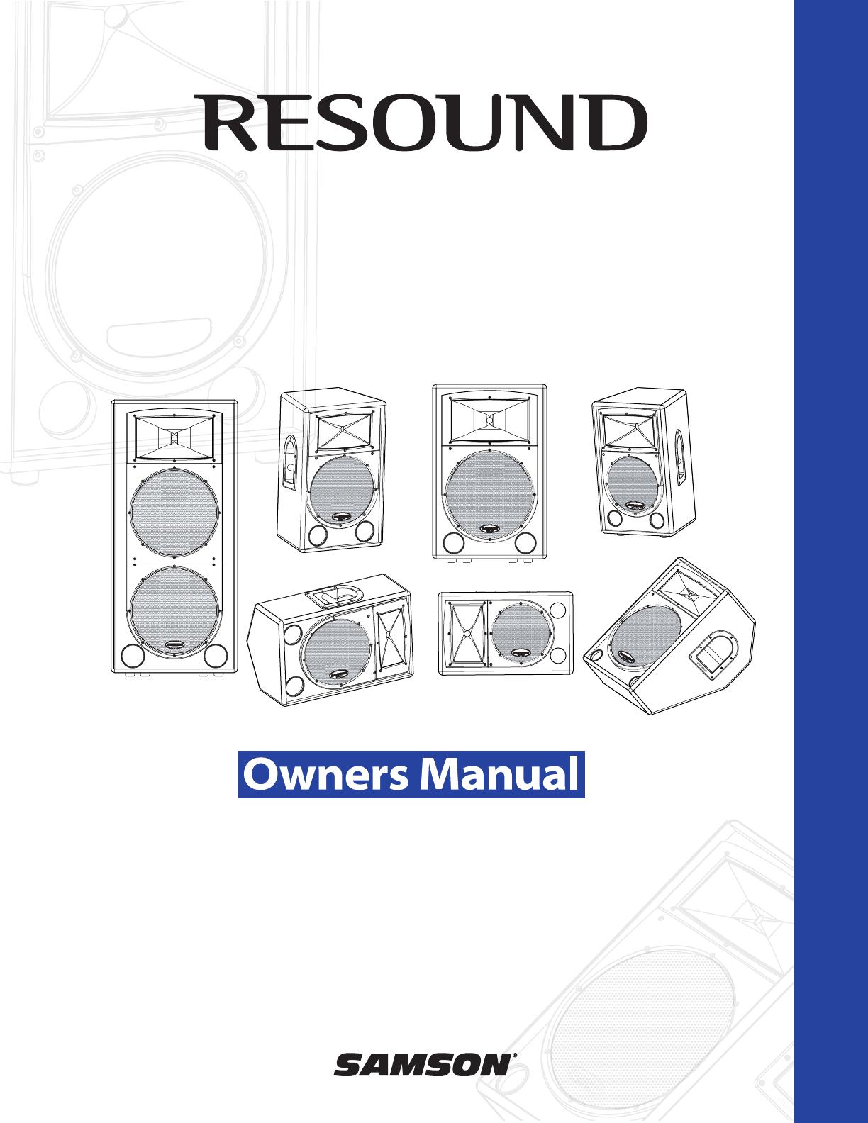 samson portable speaker rs215 user guide manualsonline com rh portablemedia manualsonline com Sony Handycam Operating Guide Sony Handycam Operating Guide