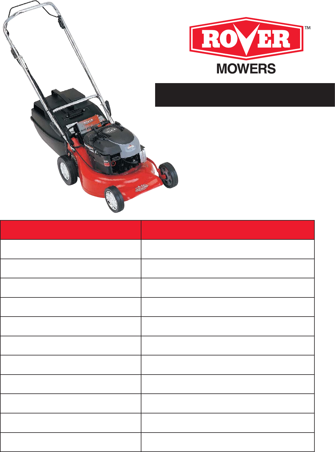 rover lawn mower 75m93 user guide manualsonline com rh lawnandgarden manualsonline com